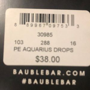 BaubleBar Jewelry - Bauble Bar Aquarius drop earrings